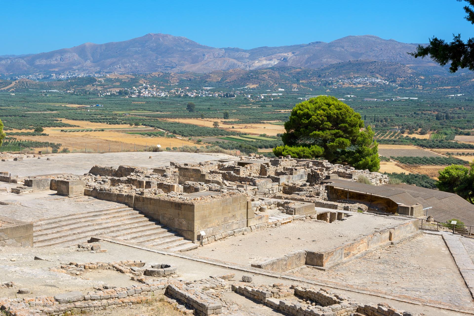 Archaeological Site Of Phaistos
